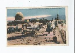 JERUSALEM 09 L'ESPLANADE DU HARAM EL CHERIF - Israele
