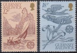 Guernsey 1981 Nº 217/18 Nuevo - Guernsey