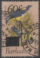 Barbados. 1981 Birds. Surcharge. 60c On 70c Used. SG 684 - Barbados (1966-...)