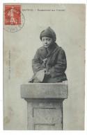 CPA - SAVOIE  RAMONEUR AU TRAVAIL - Circulé 1910 - Animée - Collection L. Grimal à Chambéry 73 - Métiers