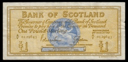 Scotland 1 Pound 1967 P.105b F+ - 1 Pond