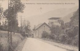 CPA:Pontcharra:Usine électrique Papeteries Du Moulin Vieux - Pontcharra