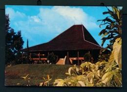 INDONESIA  -  Taman Mini  Bengkulu Traditional House  Unused Postcard - Indonesia