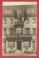 Midelkerke - Hôtel Select Pension , Avenue De La Reine ( Verso Zien ) - Middelkerke