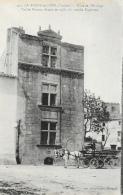 La Roche-sur-Yon (Vendée) - Place De L'Horloge, Vieille Maison Où Coucha Napoléon - Librairie Jehli-Poupin - La Roche Sur Yon