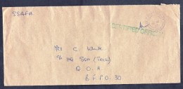UK: Fieldpost Cover, 1990, HQ 1st Battalion Scots Guards, Certified Official, Military (traces Of Use) - 1952-.... (Elizabeth II)