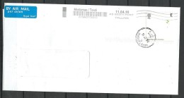 Great Britain 2016 Cover To Estonia With Nobel Prize 100th Anniversary Stamp - 1952-.... (Elizabeth II)