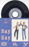 SP 45tours : PAUL McCARTNEY & MICHAEL JACKSON : Say Say Say - Ode To A Koala Bear (1983) - Soul - R&B