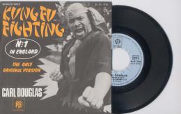 SP 45tours : CARL DOUGLAS : Kung Fu Fighting - Gamblin Man (1976) - Soul - R&B
