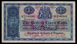 Scotland 1 Pound 1955 P.157d F - 1 Pond