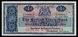 Scotland 1 Pound 1967 P.168 VF+ - 1 Pond