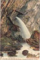 -39- BEAUME LES MESSIEURS  Cascade Et Entrée Des Grottes Timbrée TTB - Baume-les-Messieurs
