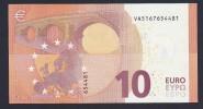 (BE027)  - 10 € - SPAIN - VA - DRAGHI - SC/UNC  (V004G5) - EURO