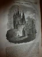 1833 LM :La Tour Du Temple (récit,impression Vécue Par La Reine Avant La Décapitation Le 13 Août 1792);Fernand Cortez; - Vieux Papiers