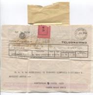 Italia-Italy-Italie Ufficio Telegrafico Di Roma 5/1/41 To S.A.R.La Pirncipessa Di Piemonte Belgio Return,unknow PR3103 - Italien