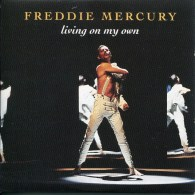 Queen - Freddie Mercury - CD Single - Living On My Own - Collector - Collectors