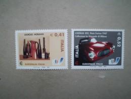 Italien    Mitläufer   Europäisches  Kulturfestival  Europalia  2003 Italien--Brüssel  2003      ** - Europäischer Gedanke
