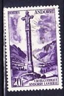 ANDORRE 1955-58 YT N° 148 Obl.