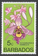 Barbados. 1974 Orchids. 5c MH. SG 514 - Barbados (1966-...)