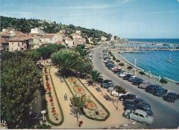 25745 Le Lavandou ! Boulevard De La Plage -217 Mar Iris -vieille Voiture -traction - France