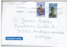FRANCIA CC SELLOS EL CONDE MONTECRISTO CAZADOR A CABALLO SOLDADO MILITAR LITERATURA - Schrijvers