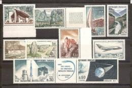 1965 Francia France ANNATA  ANNÉE YEAR Di 34v. (1435/1467, A.42) MNH** - France