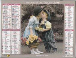 Calendrier Des Postes ,saone Et Loire 2015 - Calendars