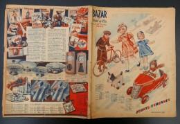 51 ) CATALOGUE 1937  BAZARD DE L'HOTEL DE VILLE PARIS JOUETS ETRENNES ( - Jouets Anciens