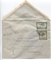Belgisch Congo BelgeTPA 9-229 S/L.Avion Tarif Imprimé C.Léopoldville 1945 ? V.Uccle PR3106 - Poste Aérienne: Lettres