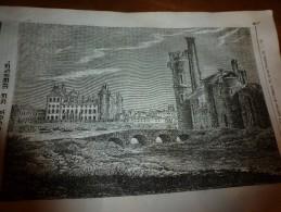 1833 LM :  La TOUR De NESLE (gravure Pleine Page); Le Tilleul Et Ses Qualités;VOLTAIRE; Le Lapin;Les Jardins Chinois - Vieux Papiers