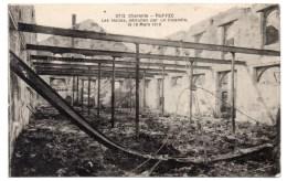 RUFFEC (16) - LES HALLES DETRUITES PAR UN INCENDIE LE 19 MARS 1919 - Ruffec