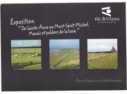 25754 De Sainte Anne Au Mont Saint Michel Marais Et Polders De La Baie -2008 -expo Photo - Archives 35 Rennes - Le Mont Saint Michel