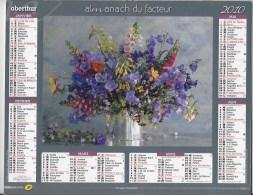 Calendrier Des Postes ,saone Et Loire 2010 - Calendars