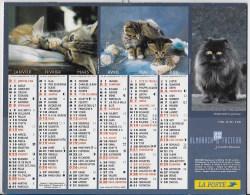 Calendrier Des Postes ,saone Et Loire 2006 - Calendars