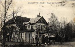 CHARETTE - Chalet - Route De Chalon (réf:12/04/2016) - France