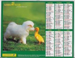 Calendrier Des Postes ,saone Et Loire 2005 - Grand Format : 2001-...