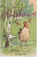 Frohliche Ostern - Joyeuses Pâques - Pâques