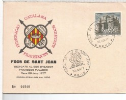 REUS TARRAGONA MAT 1977 FOCS DE SANT JOAN - Fiestas