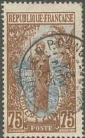 Moyen Congo - N° 61 (YT) N° 60 (AM) Oblitéré. - Congo Français (1891-1960)