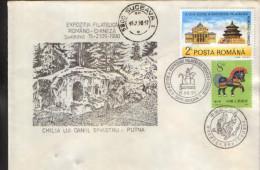 Romania - Occasional Envelope 1990 - Chinese Stamp Exhibition At Suceava - Briefmarkenausstellungen