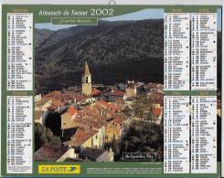 Calendrier Des Postes ,saone Et Loire 2002 - Grand Format : 2001-...