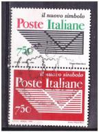 1994  BLOCCO POSTE ITALIANE NUOVO LOGO  750 Lire  USATO - 6. 1946-.. Repubblica