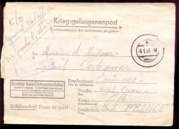 Brief Lettre - Kriegsgefangenenpost - Omer Clisque à Paul Cartequisse - Lille - 1944 - Marcophilie (Lettres)