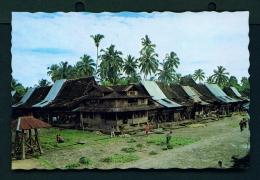 INDONESIA  -  Sumatra  Bawomataluo Village  Unused Postcard - Indonesia
