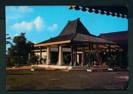 INDONESIA  -  Java  Traditional House  Unused Postcard - Indonesia