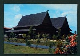 INDONESIA  -  Riau  Pavilion Of The Taman Mini Indah Park  Unused Postcard - Indonesia