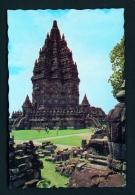 INDONESIA  -  Java  Prambanan Temple  Unused Postcard - Indonesia