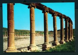 JORDAN  -  Jerash Forum  Unused Postcard - Jordan
