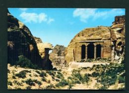 JORDAN  -  Petra  Dushara  Unused Postcard - Jordan