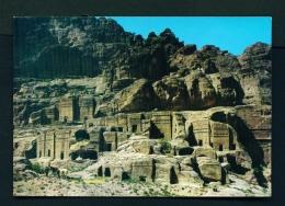 JORDAN  -  Monuments Of Petra  Unused Postcard - Jordan